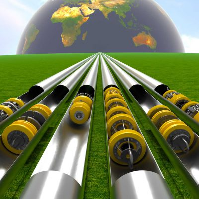 In-line inspection of unpiggable pipelines; a challenge and a solution