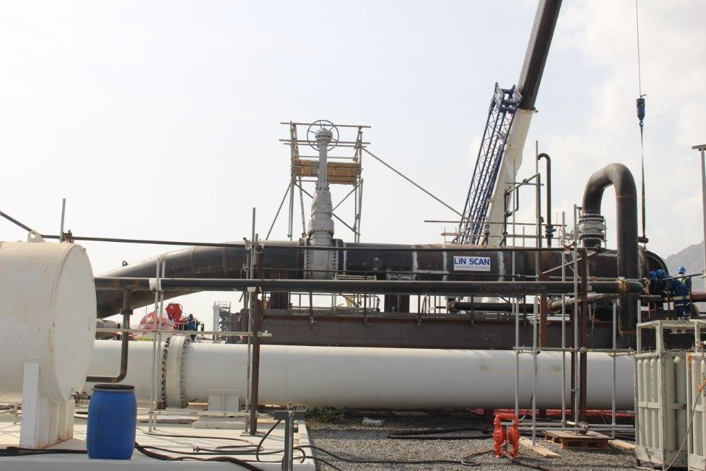 Successful inspection of unpiggable loading lines using ILI technology in the UAE