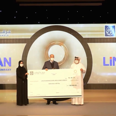LIN SCAN, a PIPECARE company, wins first place in Abu Dhabi Chamber SME Award